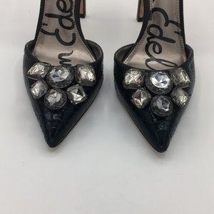 Sam Edelman Shoes - SAM EDELMAN Mark pointed toe sling back heels